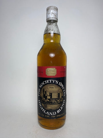 The Wine Society's Special Highland Blended Scotch Whisky - 1970s (40%, 75cl)