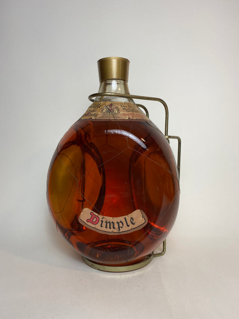 John Haig's 'Dimple' Blended Scotch Whisky - 1970s (40%, 190cl)