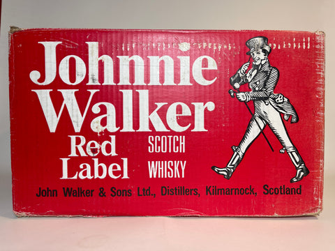 Johnnie Walker Red Label Old Scotch Whisky - 1970s (40%, 37.5cl)