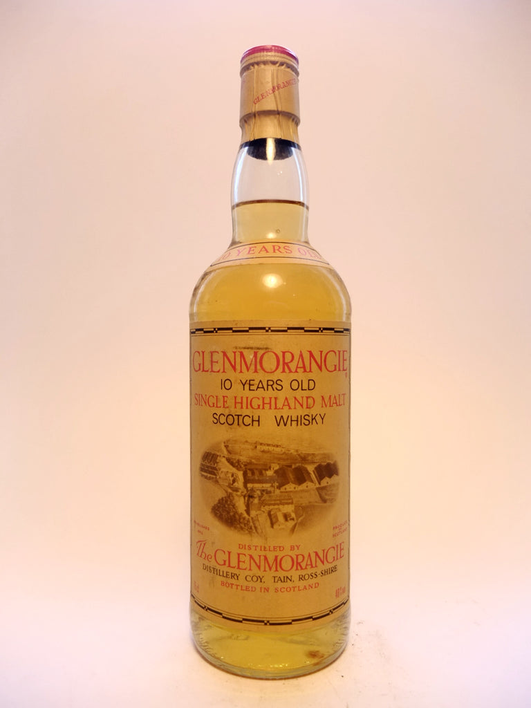 Glenmorangie 10 Year Old Single Highland Malt Scotch Whisky - 1980s (40%, 75cl)