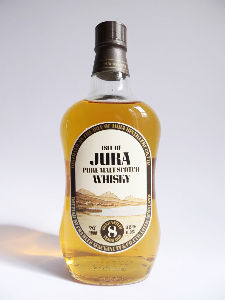 Isle of Jura 8 Year Old Pure Malt Scotch Whisky - 1970s (40%, 75cl)