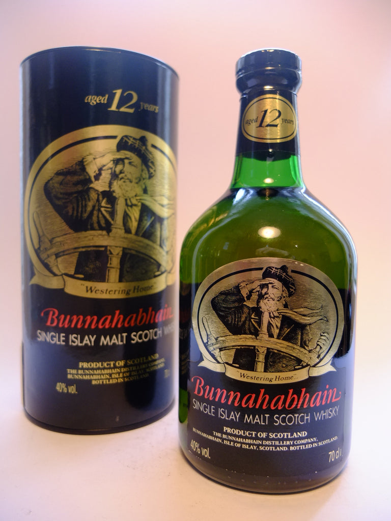 Bunnahabhain 12 Year Old Single Islay Malt Scotch Whisky - 1990s (40%, 70cl)