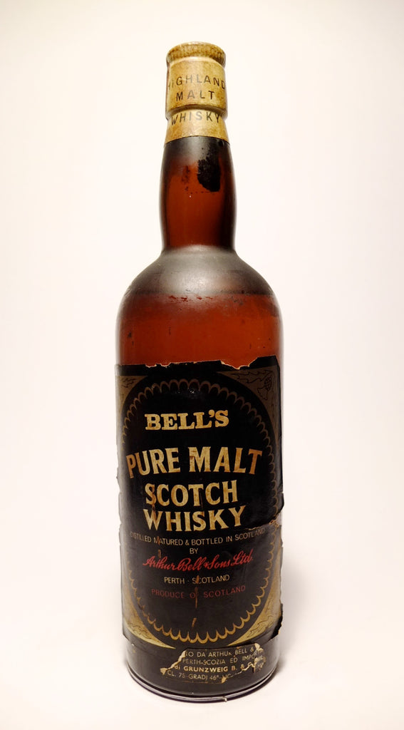 Arthur Bell's Pure Malt Blended Scotch Whisky - 1960s (46%, 75cl)