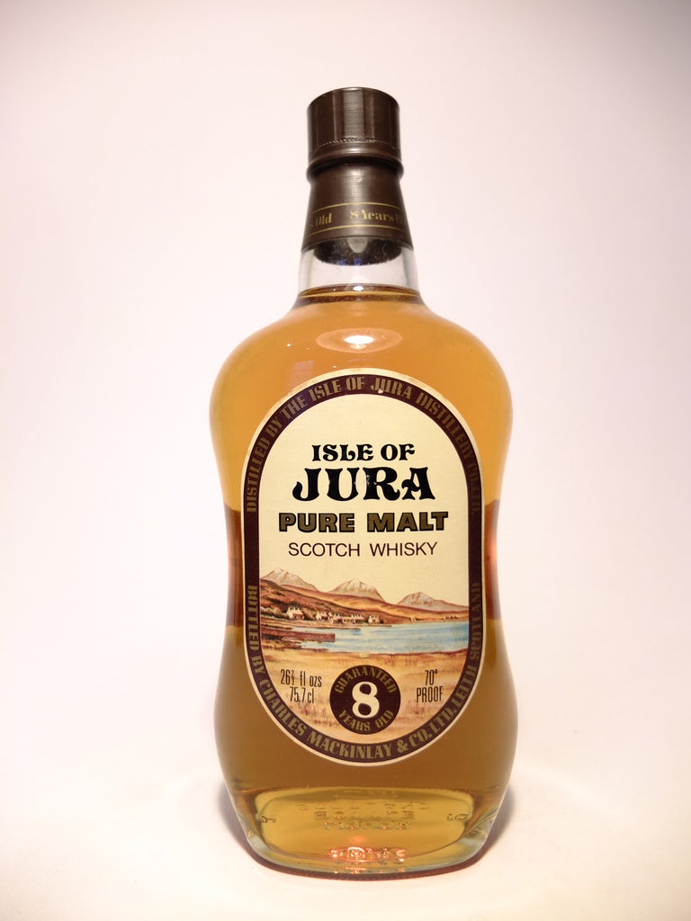 Isle of Jura 8YO Pure Malt Scotch Whisky - 1970s (40%, 75cl)