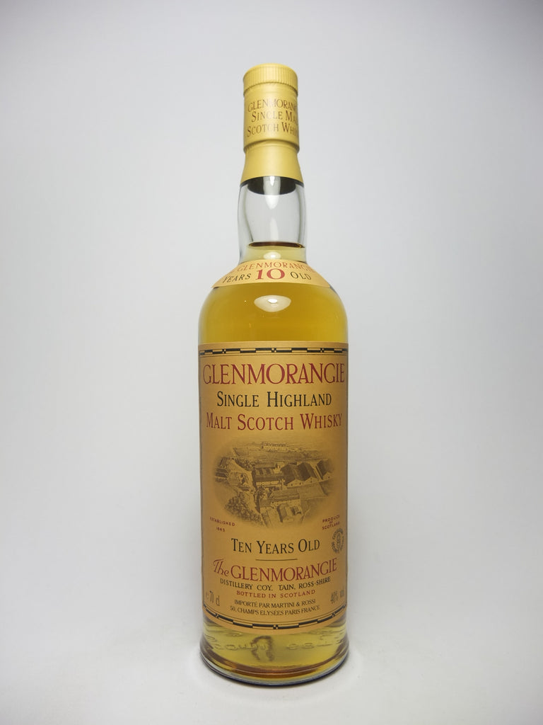 Glenmorangie 10YO Single Highland Malt Scotch Whisky - post-1999, pre-2006 (40%, 75cl)