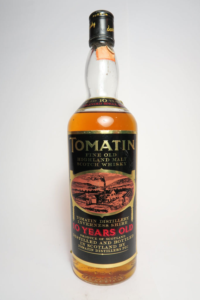 Tomatin 10YO Highland Single Malt Whisky - 1970s (40%, 75cl)