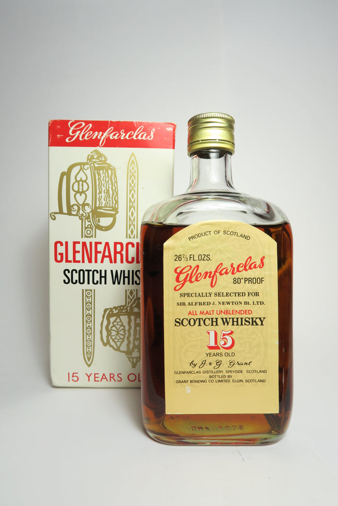 Glenfarclas 15YO Speyside Single Malt Whisky - 1970s (40%, 75cl)