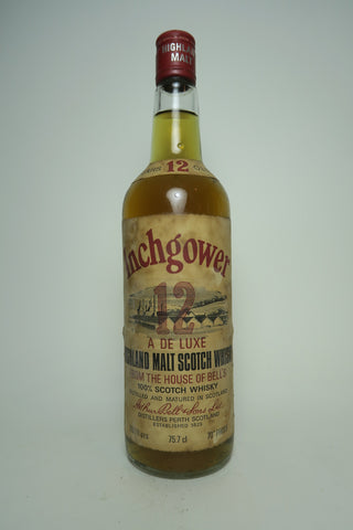 Arthur Bell's Inchgower 12YO Highland Malt Whisky 1970s (40%, 75.7cl)