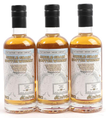 That Boutique-Y Whisky Company Cambus 25 Year Old Lowland Single Grain Scotch Whisky - Distilled 1993 / Bottled 2018 (50.1%, 50cl)