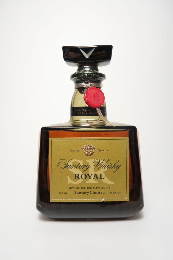Suntory Royal Blended Japanese Whisky - 1980s (43%, 72cl)