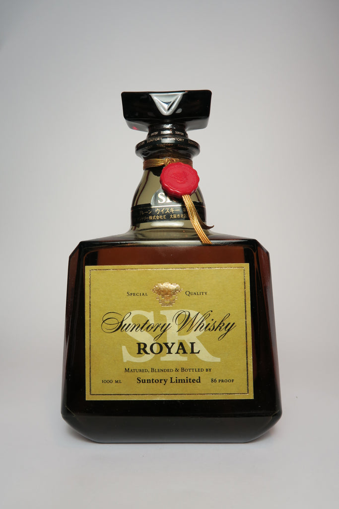 Suntory Royal Blended Japanese Whisky - 1980s (43%, 100cl)