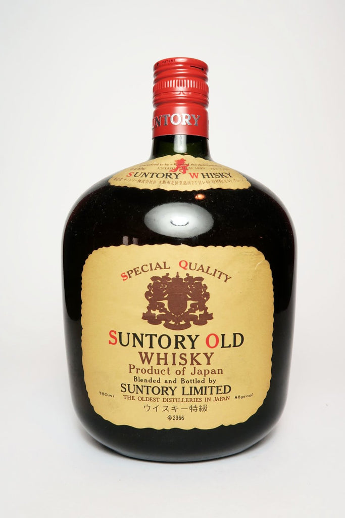 Suntory Old Blended Japanese Whisky - 1970s (43%, 76cl)