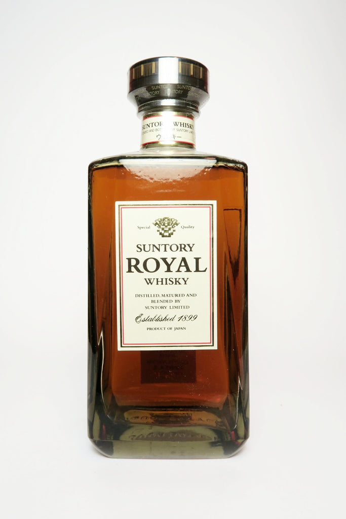Suntory Royal Blended Japanese Whisky - 1990s (43%, 70cl)
