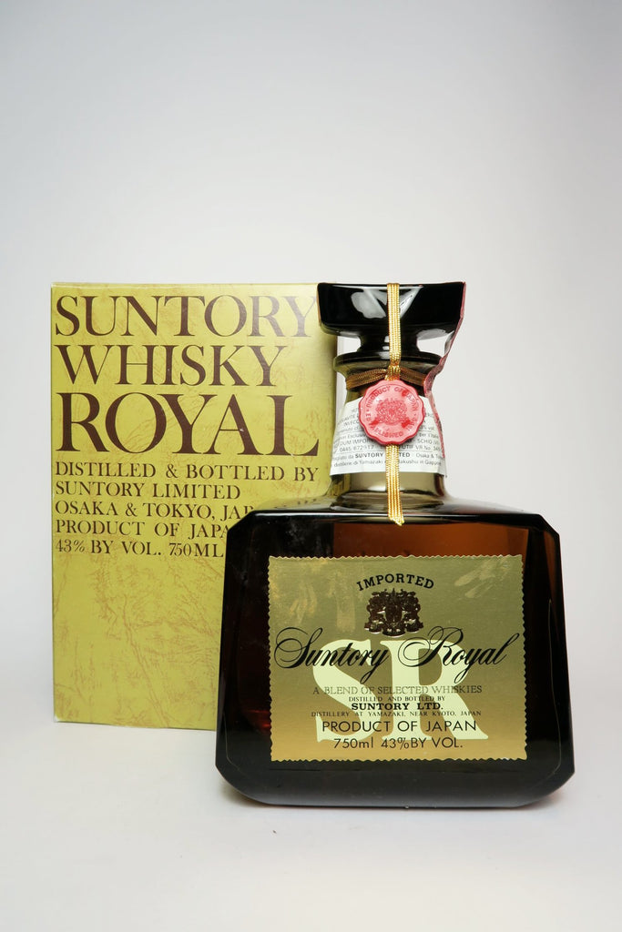 Suntory Royal Blended Japanese Whisky - 1980s (43%, 75cl)