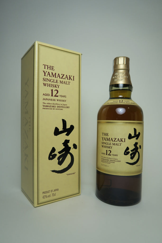 Yamazaki 12YO Japanese Single Malt Whisky - Bottled 2000s (43%, 70cl)