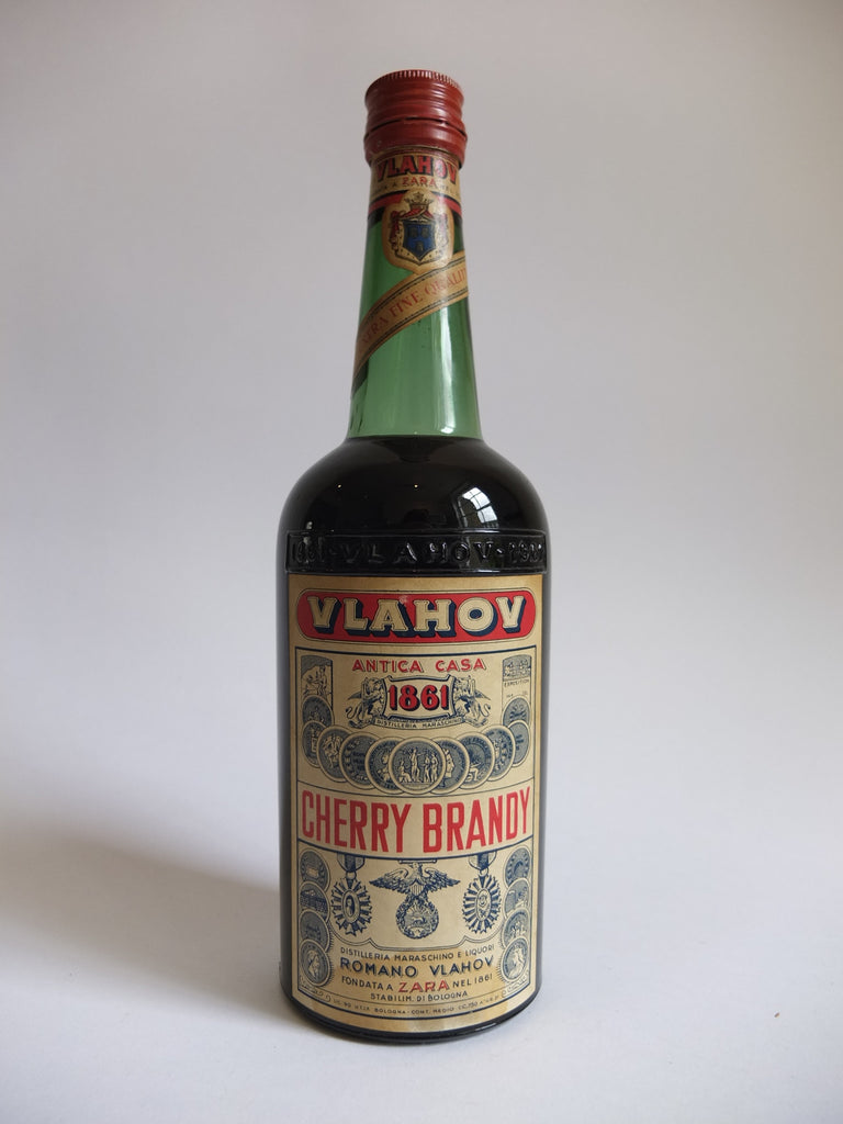 Vlahov Cherry Brandy - 1950s (31%, 75cl)