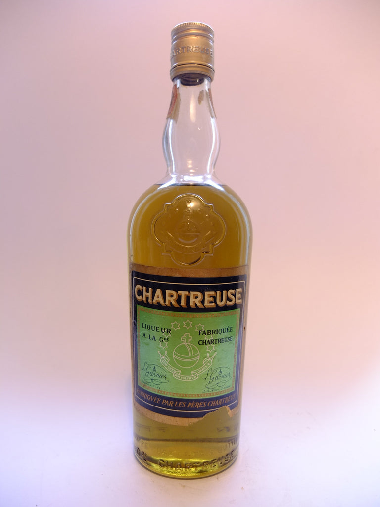 Chartreuse, Green Voiron	- pre-1964 (55%, 75cl)