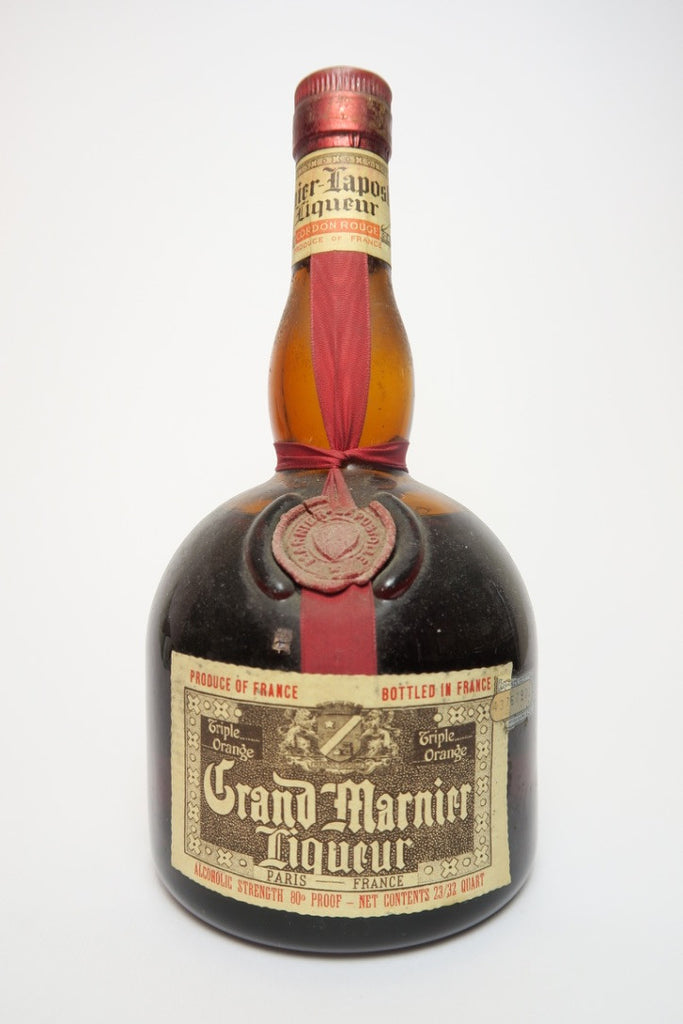 Grand Marnier Cordon Rouge - pre-1964 (40%,	68cl)