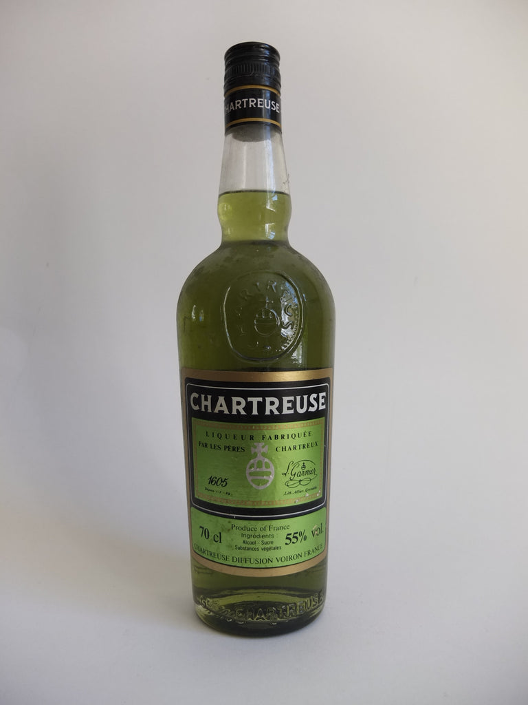 Chartreuse, Green Voiron - late 1990s/early 2000s (55%, 70cl)