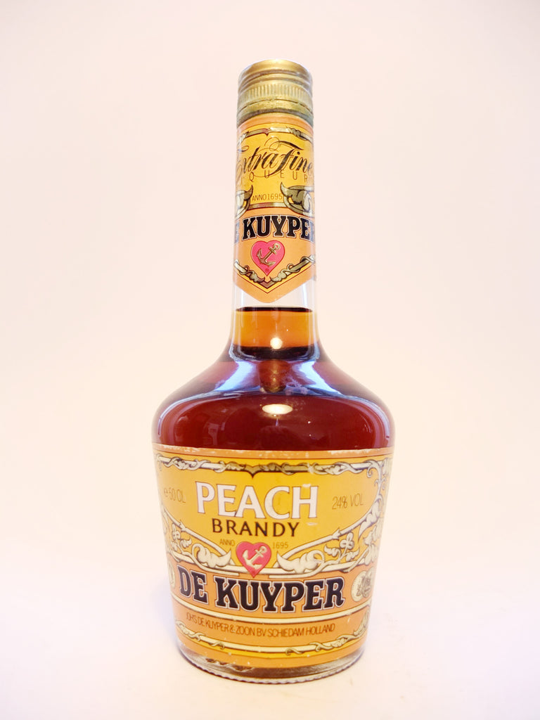 De Kuyper Peach Brandy - 1980s (24%, 50cl)