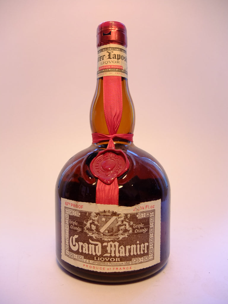 Grand Marnier Cordon Rouge - 1970s (38%, 74.5cl)