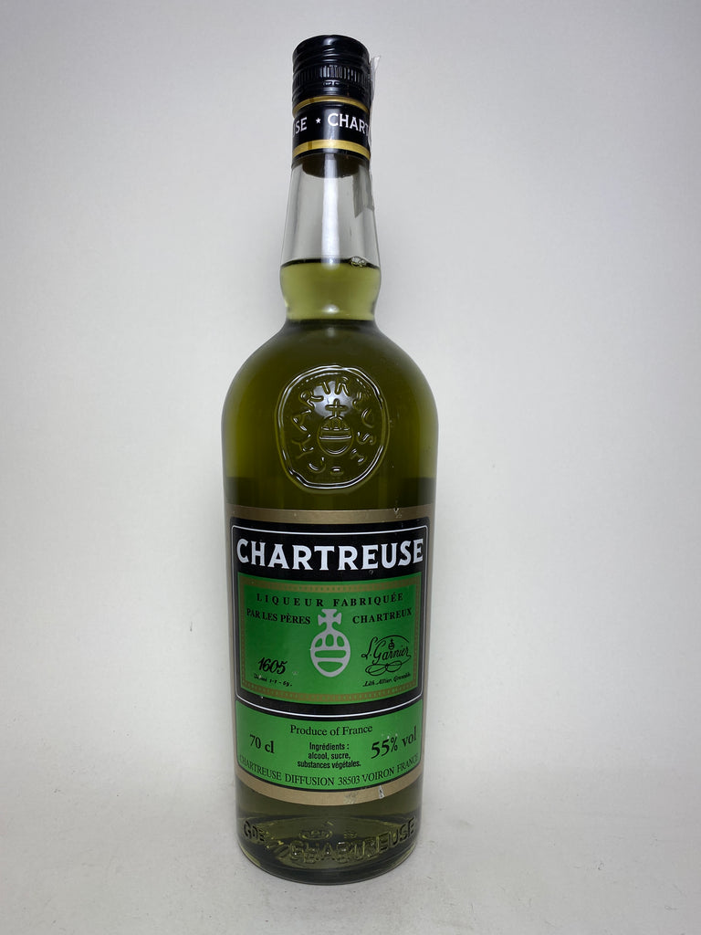 Chartreuse, Green, Voiron - Dated 921 (2005), (55%, 70cl)