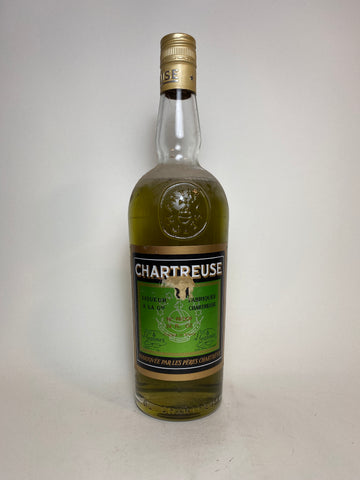 Chartreuse Green Voiron - 1975-82 (55%, 70cl)