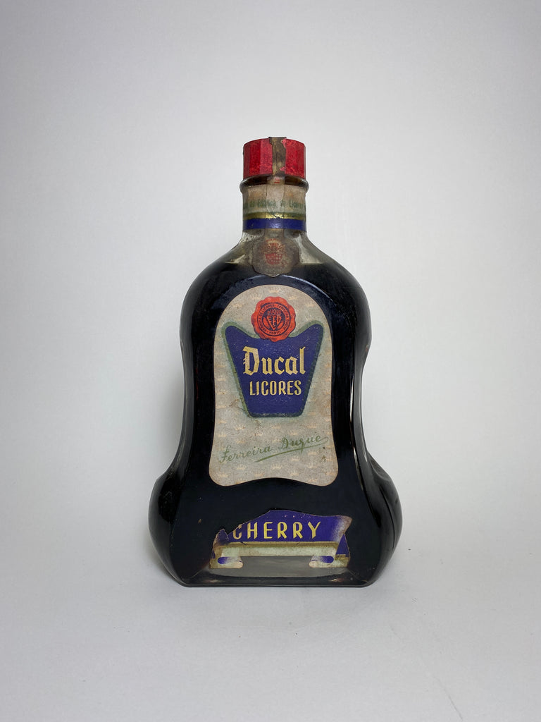 Ferreira Duque Ducal Licores Cherry Liqueur - 1950s (ABV Not Stated, 70cl)