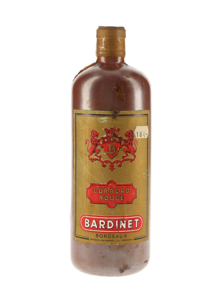 Bardinet Curaçao Rouge - 1960s (ABV Not stated, 50cl)