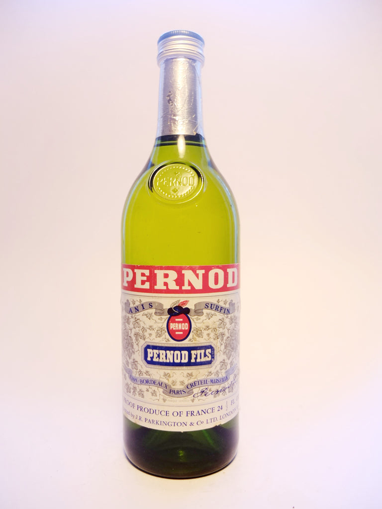 Pernod Anis - 1970s (44.5%, 69.5cl)