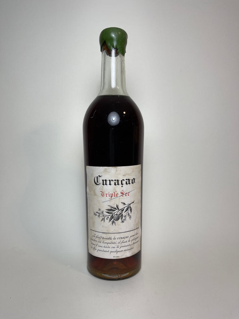 Curaçao Triple Sec - 1950s (ABV Not Stated, 75cl)