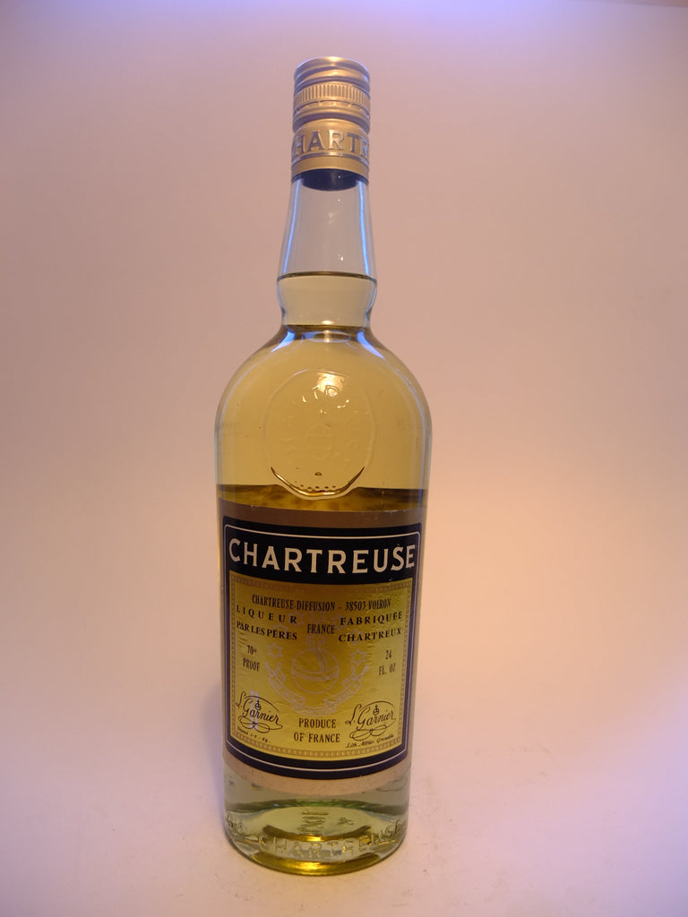 Chartreuse, Yellow Voiron - 1970s (40%, 68cl)