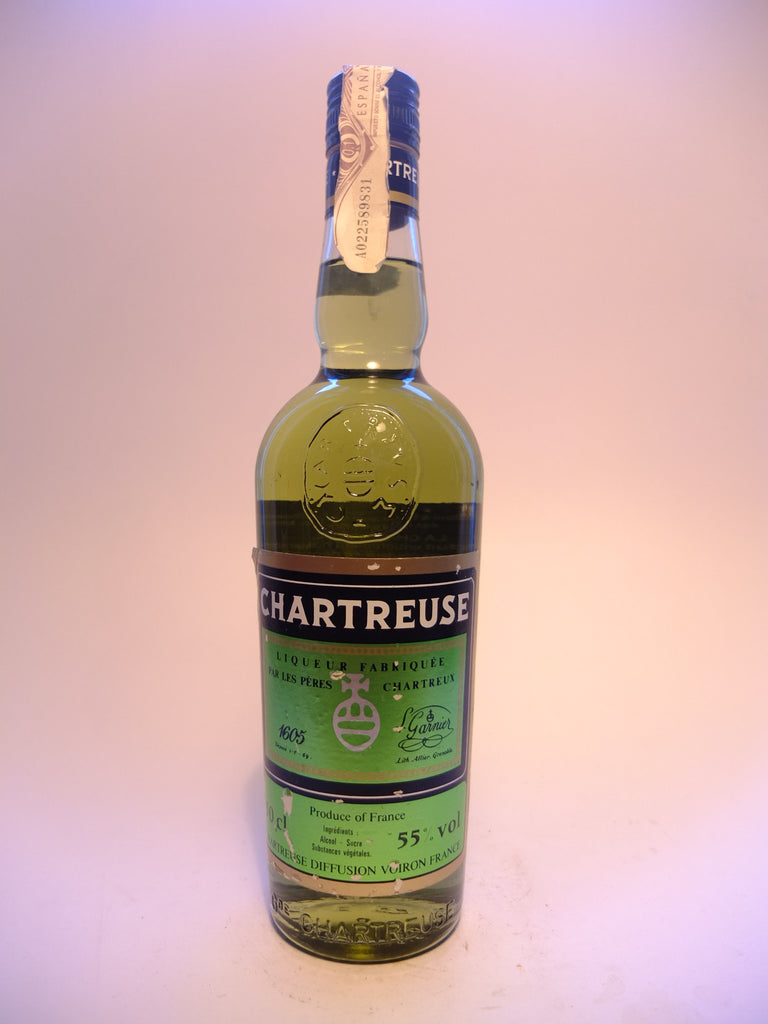 Chartreuse, Green Voiron - 1980s (55%, 50cl)
