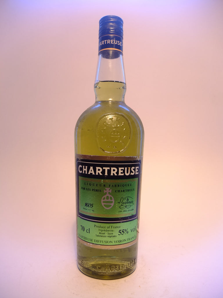 Chartreuse, Green Voiron - 1980s (55%, 70cl)