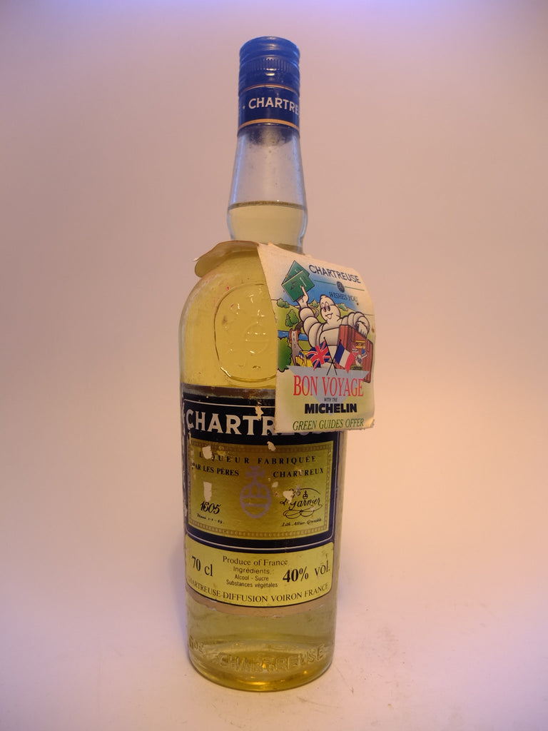 Chartreuse, Yellow Voiron - 1980s (40%, 70cl)