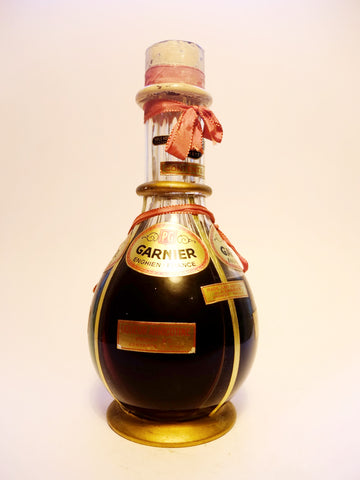 Garnier Four Compartment Liqueur Bottle (Abricotine; d'Or; Crème de Menthe; Triple Sec), Various%	1940s	94.6cl