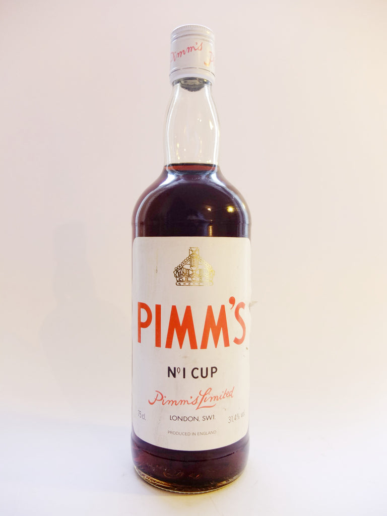 Pimm's No. 1 (Gin) Cup - 1980s (31.4%, 75cl)