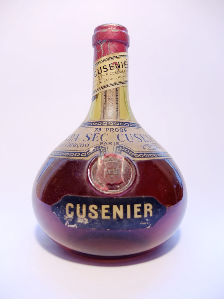 Cusenier Extra Dry Orange Curaçao - 1930s (42%, 68cl)