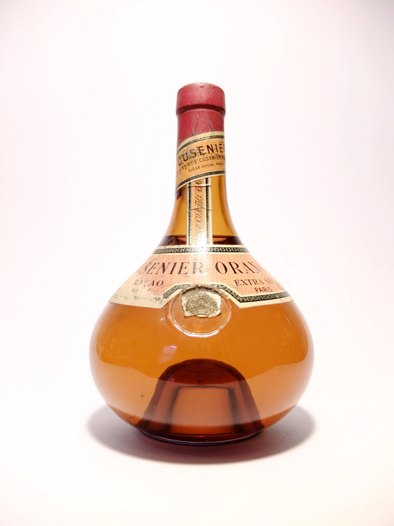 Cusenier Extra Dry Orange Curaçao - 1950s (ABV Not Stated, 75cl)