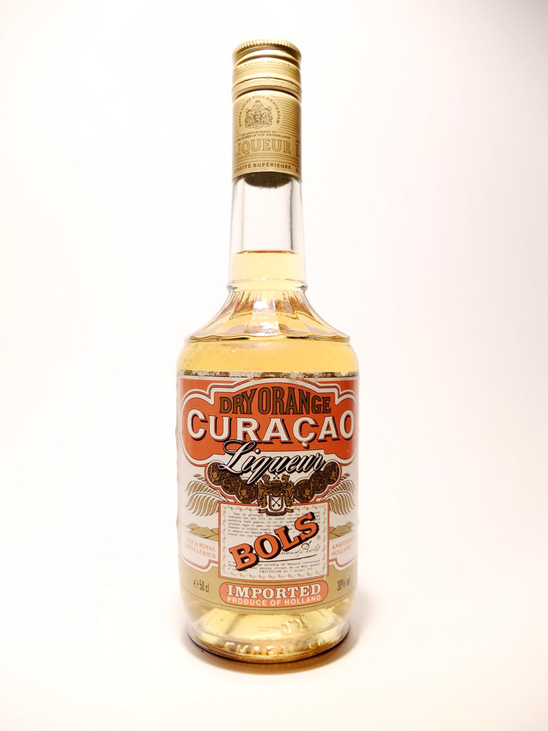 Bols Dry Orange Curacao - 1980s (30%, 50cl)