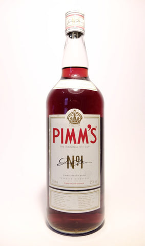 Pimm's No. 1 (Gin) Cup - 1990s (25%, 100cl)