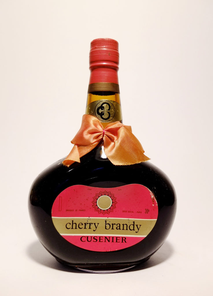 Cusenier Cherry Brandy - 1960s (30%, 35cl)