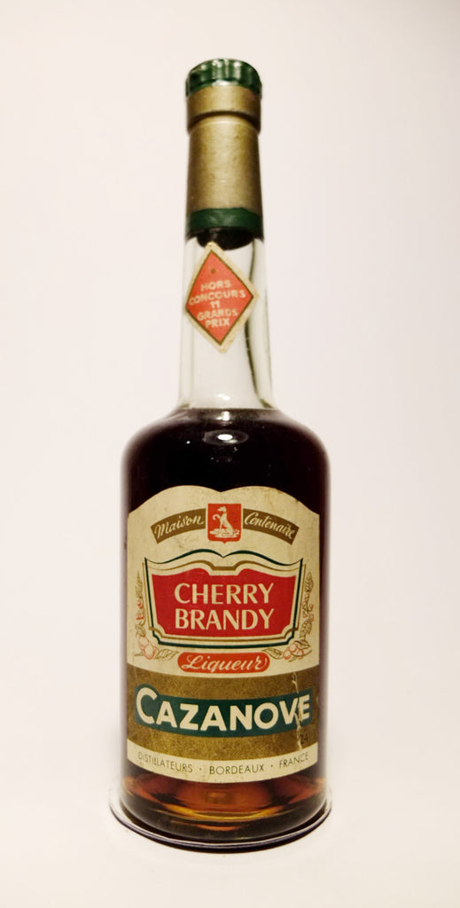 Cazanove's Cherry Brandy - 1950s (24%, 35cl)