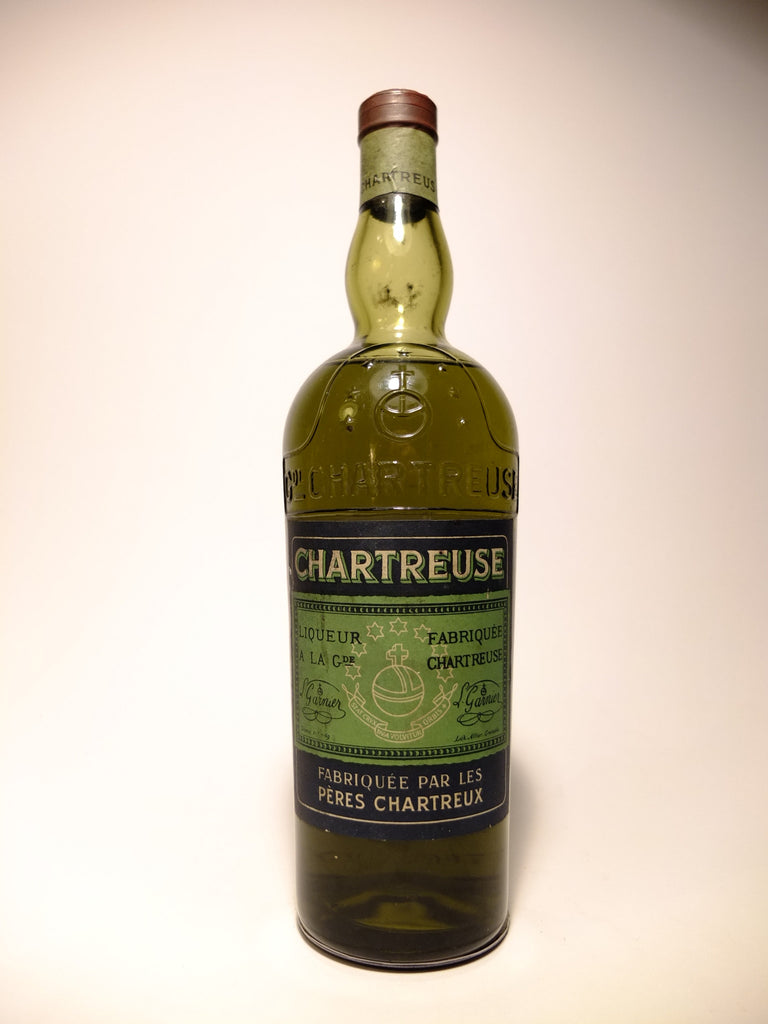 Chartreuse, Green Voiron - 1956-64 (55%, 75cl)