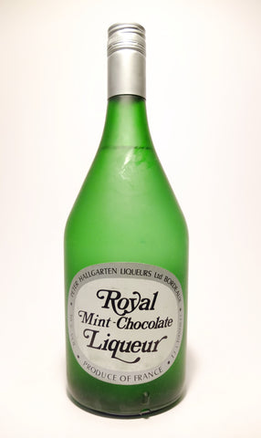 Peter Hallgarten Royal Mint-Chocolate Liqueur - 1970s (30%, 100cl)