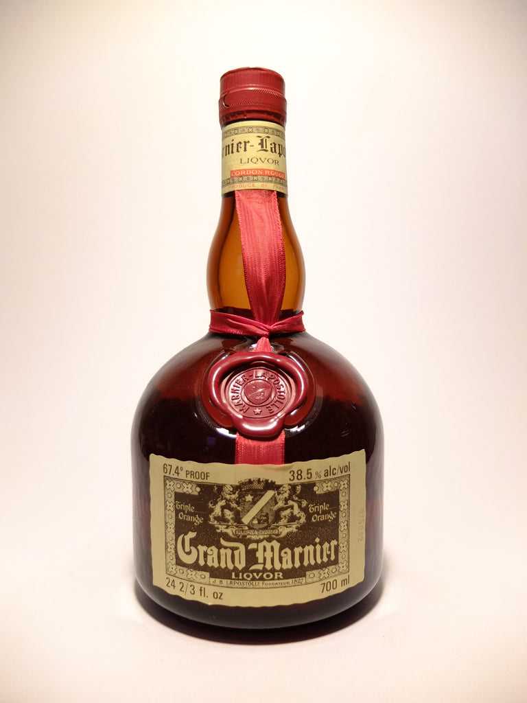 Grand Marnier Cordon Rouge Liqueur - 1970s (38.5%, 70cl)