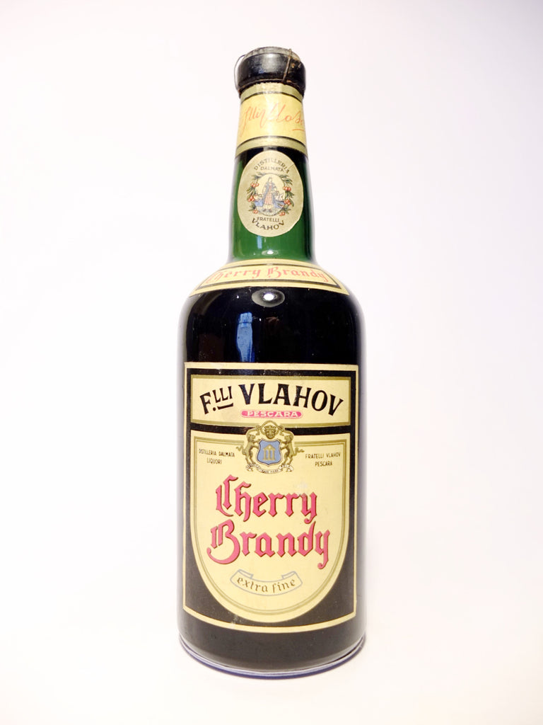 Vlahov Cherry Brandy - 1950s (32%, 50cl)