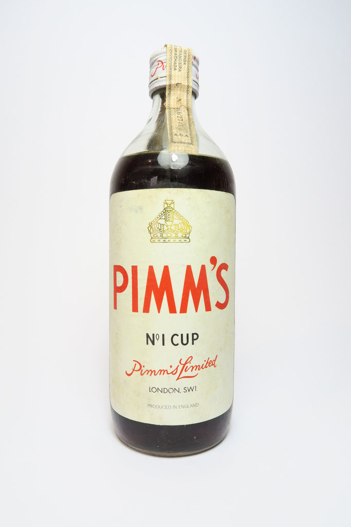 Pimm's No. 1 Gin Cup - 1960s (34.5%, 75cl)