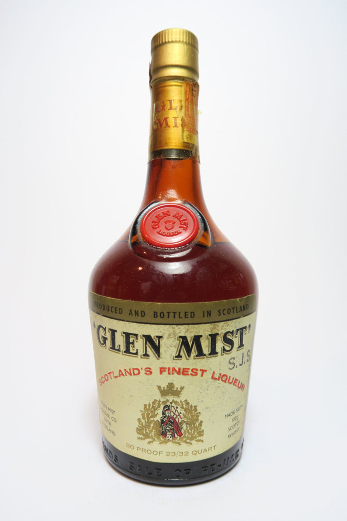 Glen Mist Scottish Whisky Liqueur - c.1964 (40%, 68cl)