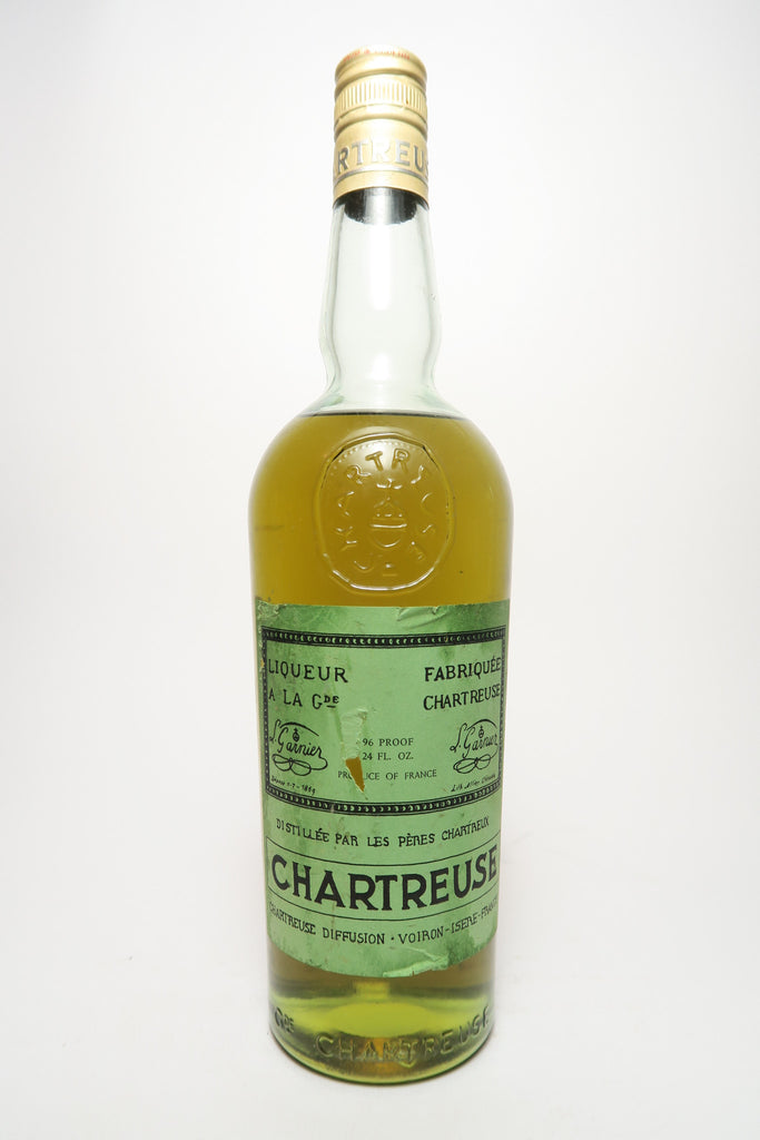Chartreuse, Green Voiron - 1960s (40%, 75cl)